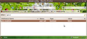 Disabilitare la Geolocalizzazione di Firefox