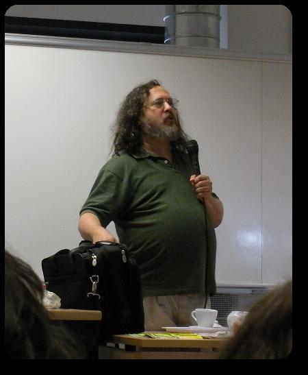 Richard Stallman @ Ancona