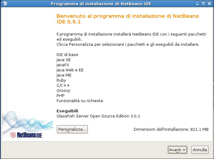 installazione netbeans 1